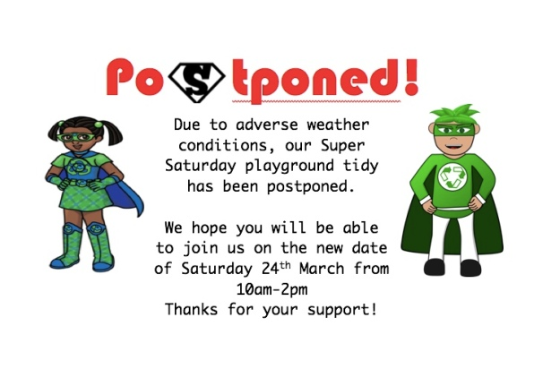 Postponed Super saturday