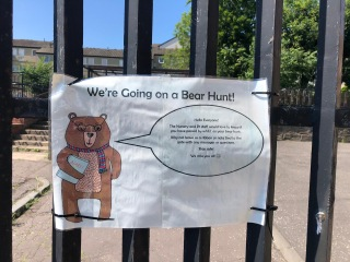 Bear Hunt Leave a Label!